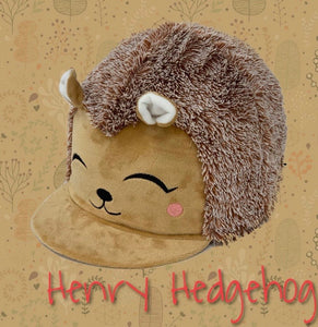Equetech Henry Hedgehog limited addition hat cover