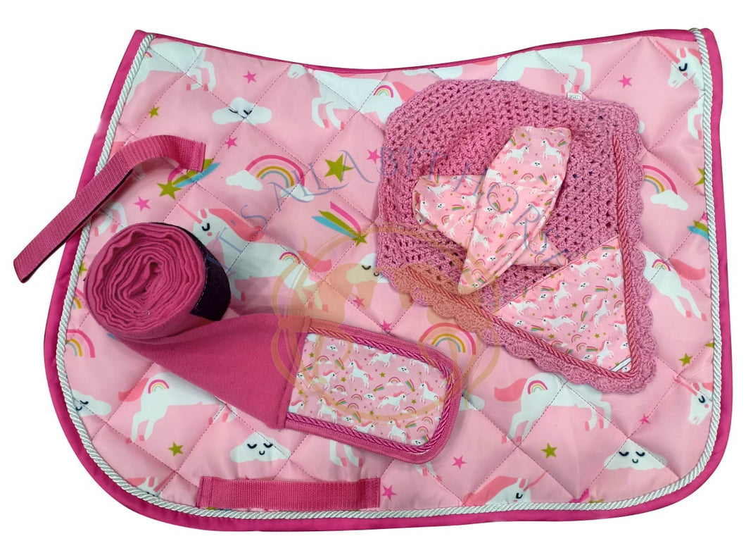 Unicorn pink fun set