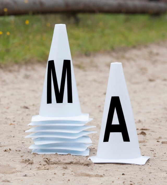 Arena marker cones for 20x40