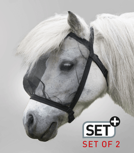 W Fly mask without ears two pack