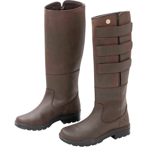 Field boots brown