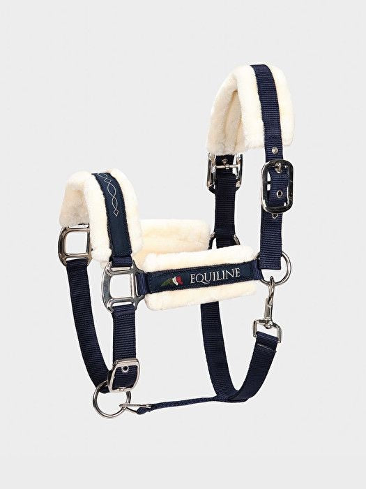 Cavezza Equiline Tom Ecowool head collar