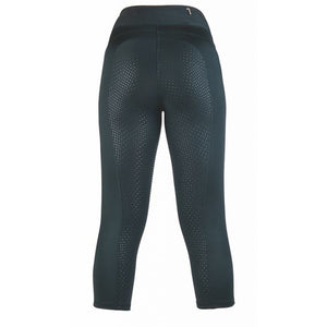 HKM  3/4 riding leggings -Mesh-Style silicone full seat