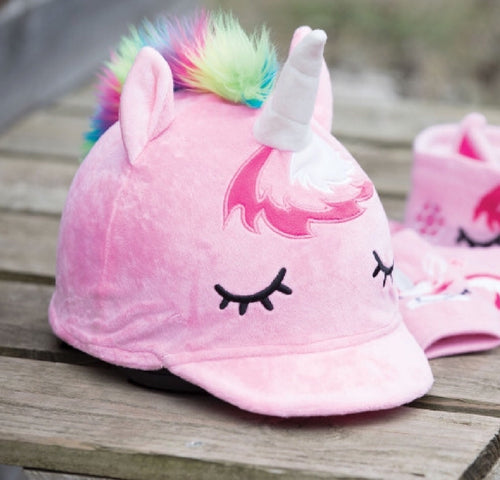 Equetech Unicorn hat cover