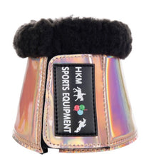 HKM space rose gold overeech boot fur