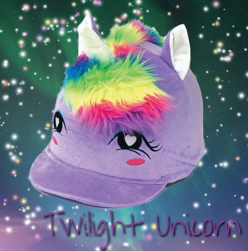 Equetech Twilight unicorn hat cover limited addition