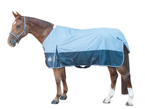 Summer rain light weight turnout rug