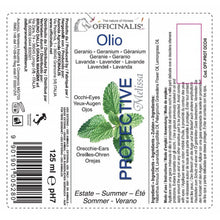 Officinalis protective eye contour oil