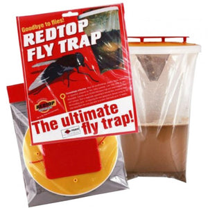 red top fly catcher trap