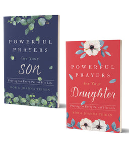 Powerful Prayers for Your Son and Daughter - Bundle