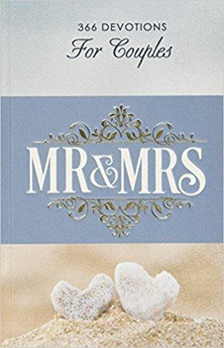 Mr & Mrs Devotions For Couples in Hardcover
