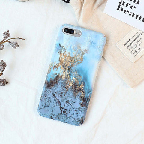 Magic Mountain Marble Style iPhone Case