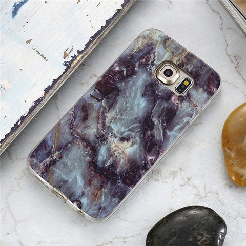 Ancient Volcano Marble Samsung Phone Case
