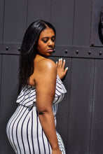Load image into Gallery viewer, GET IN LINE  | Striped tube dress