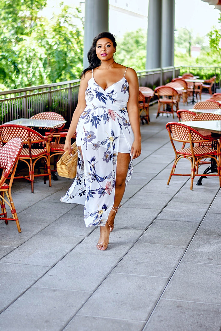 Whisked Away | Floral Dress