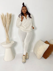 Feeling Chilly | Bone 2pc Set