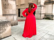 Load image into Gallery viewer, Heartbreaker | Red chiffon Dress