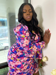 Roses and Rozay | Pink Rose Ruffle Dress