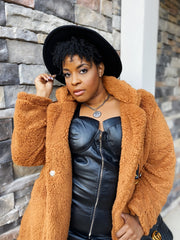 Pumpkin Spice  | Cinnamon Teddy Jacket