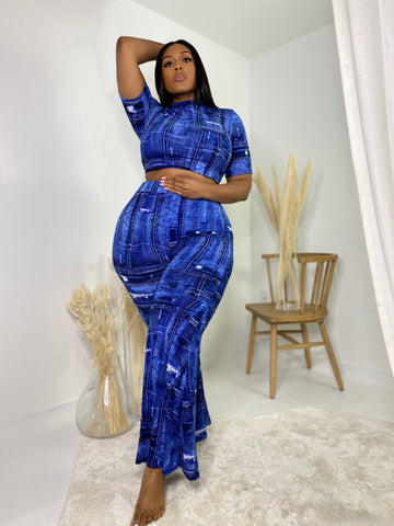 Denim Daze | Blues 2pc Set
