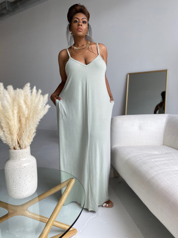 Summer Daze | Soft Sage Dress