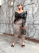 Load image into Gallery viewer, Luxe Leopard   | Silky Leopard Pants