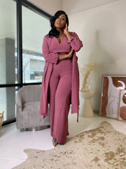 Posh | Wild Rose 3pc Duster Set