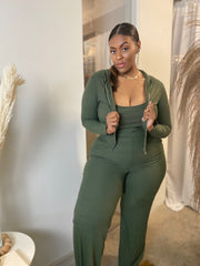 Juicy | Olive Ribbed 3pc Set