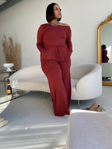 Wine Down | Sienna Jumpsuit
