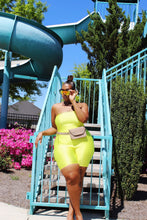 Load image into Gallery viewer, Bright Side | Neon Yellow Romper