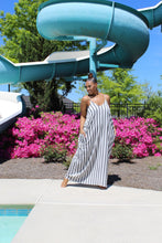 Load image into Gallery viewer, Easy Breezy | Striped Linen Dress