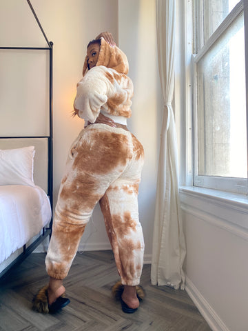 Snatched and Snuggly |  Marble 2pc Teddy Set