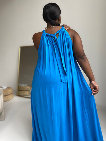 Take Me Away | Turquoise Maxi Dress