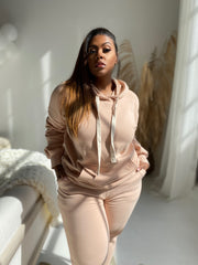Chill Mode | Blush Sweatsuit Set
