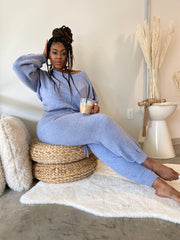Morning Coffee |  Blue 2pc Teddy Set- Restock Ships 1 / 26