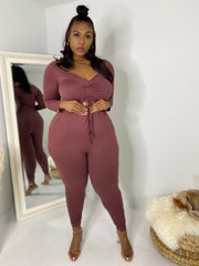 The Switch Up  |  Mauve  2pc Set