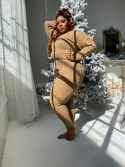 Morning Chill | Caramel Sweater 2pc Set