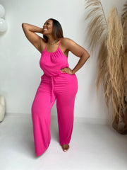 Around Town | Poppin PinkJumpsuit