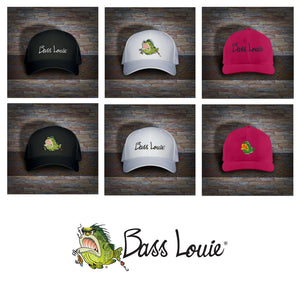Bass Louie: Waterway Protector youth fishing hat