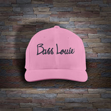 Bass Louie: Waterway Protector adult pink fishing hat