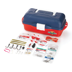 NEW13-GO FISH EXTREME VALUE TACKLE BOX KIT