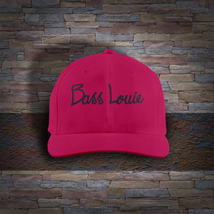 Bass Louie: Waterway Protector youth pink fishing hat