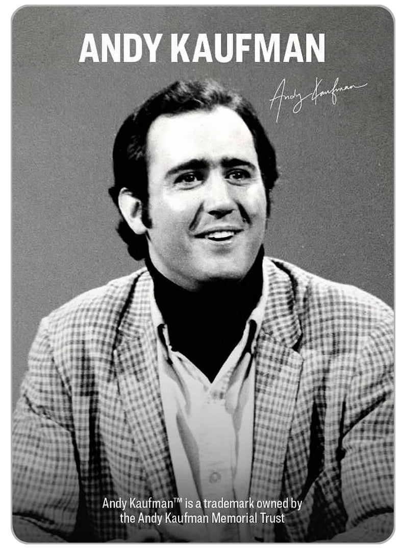 Andy Kaufman™ playing cards