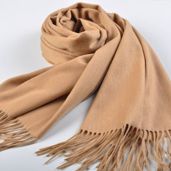 Big Thick Cashmere scarf Shawl