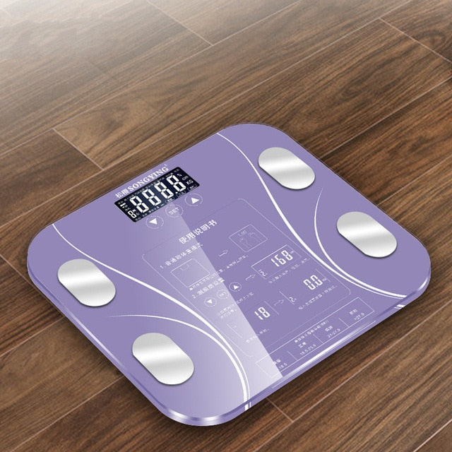 Hot Bathroom Body Fat bmi Scale Digital Human Weight Mi Scales Floor lcd display Body Index Electronic Smart Weighing Scales