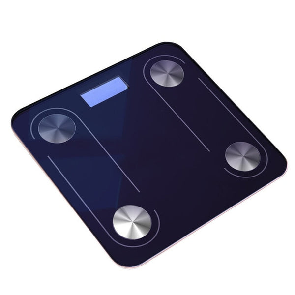 Body Fat Scale Floor Glass Smart Electronic Scales USB LED Digital BMI Weight Balance Bariatric Bathroom Scales Bluetooth Scale