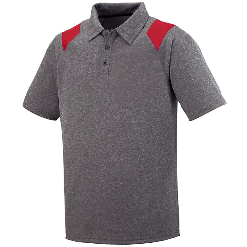 Polo with Deocrative Shoulder Inserts