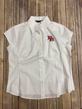 LADIES, BAW, Shirt, Button Down, Cap Sleeve