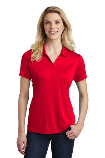 Ladies Two Button Placket PosiCharge Polo