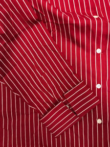 LADIES, BAW, Shirt, Button-down, L/S, Stripe
